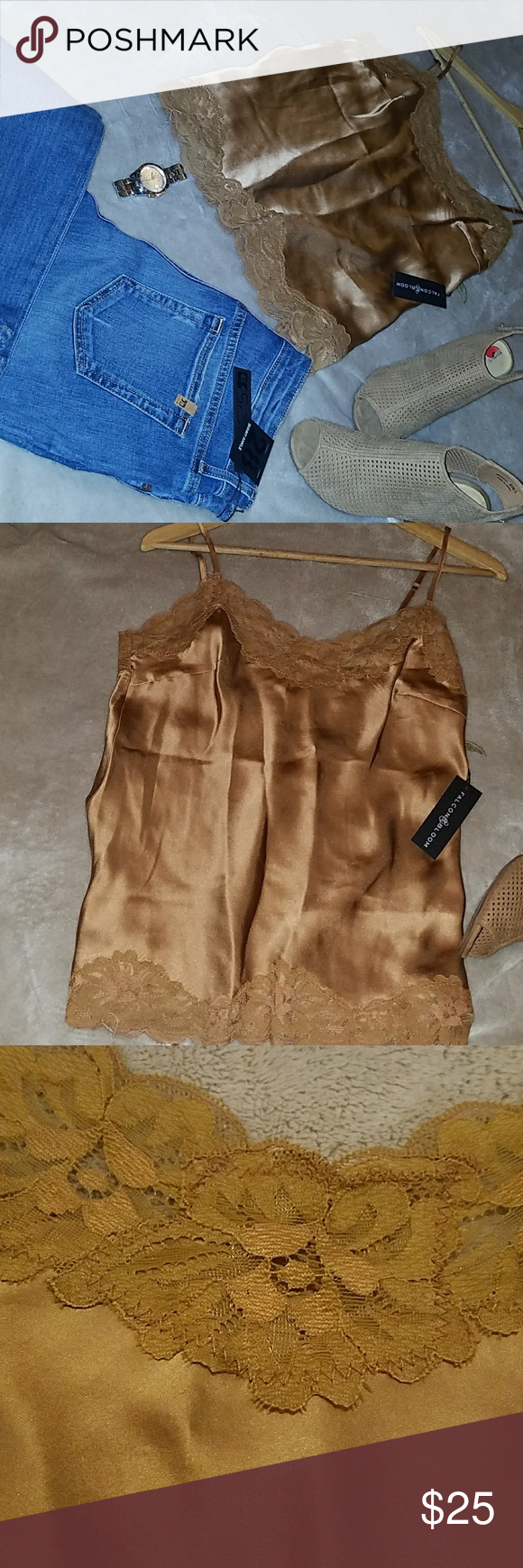 Selling this New Daisy camisole blouse on Poshmark! My username is: rosa2603. #shopmycloset #poshmark #fashion #shopping #style #forsale #falcon bloom #Tops