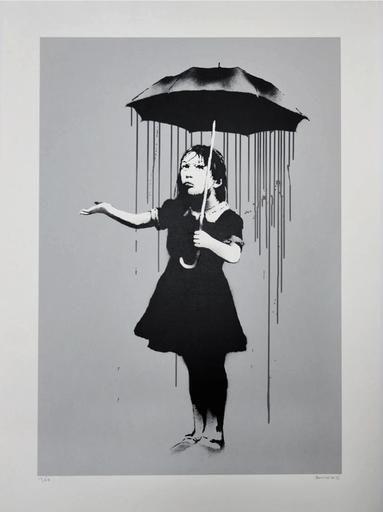 nola grey  -  Banksy, screenprint