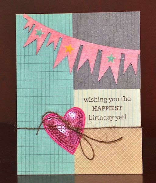 Happiest Birthday card by Darla Weber #WRMK #PinkPaislee