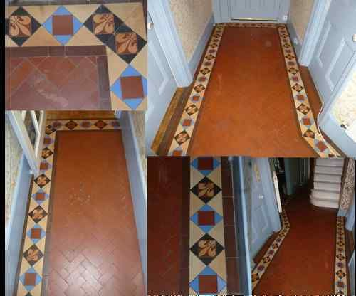 Original Reclaimed Victorian Floor Tiles Some Fleur De Lys Ebay