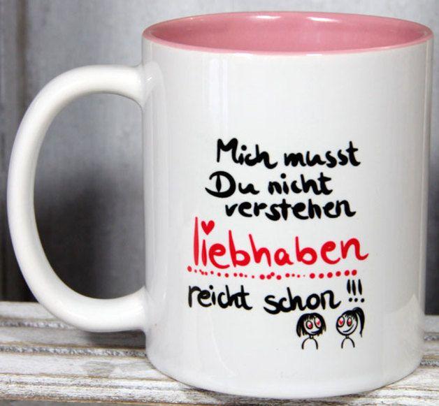 Becher & Tassen - lustige Tasse, Sprüchetassen, Spruch-Tassen - ein Designerstück von Tassen-Geschenke-by-MySweetheart bei DaWanda #lustigegeschenke
