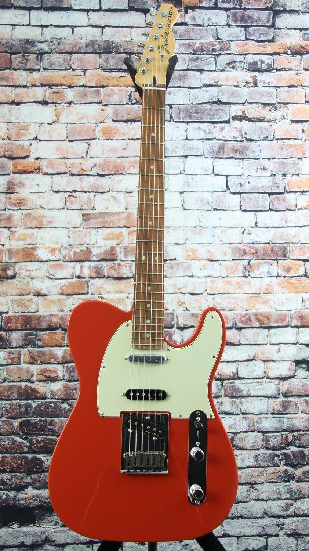 Fender Deluxe Nashville Tele Fiesta Red Fender Deluxe Nashville Fender American Special Telecaster