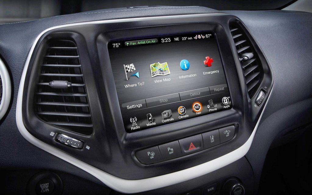 2014 2018 Jeep Cherokee Gps Uconnect Navigation 8 4an Ra4 Radio