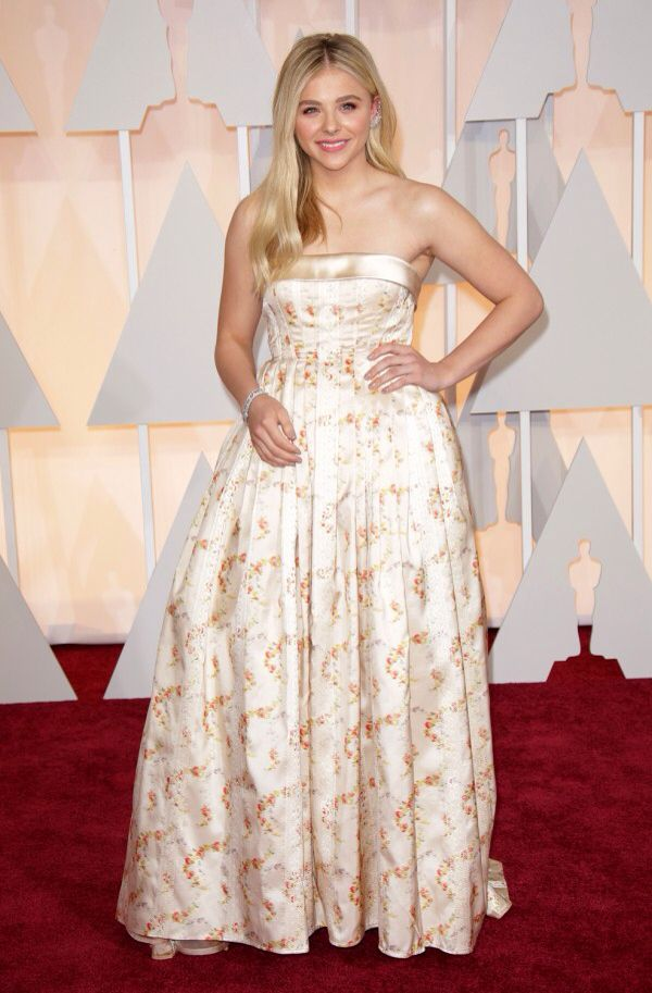 Chloe Grace Moretz attends the 87th Annual Academy Awards at Hollywood & Highland Center on February 22, 2015
