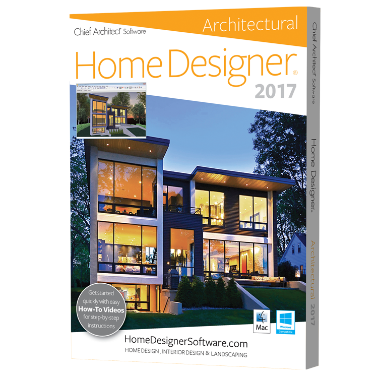 Chief Architect Home Designer Architectural 2017 Software