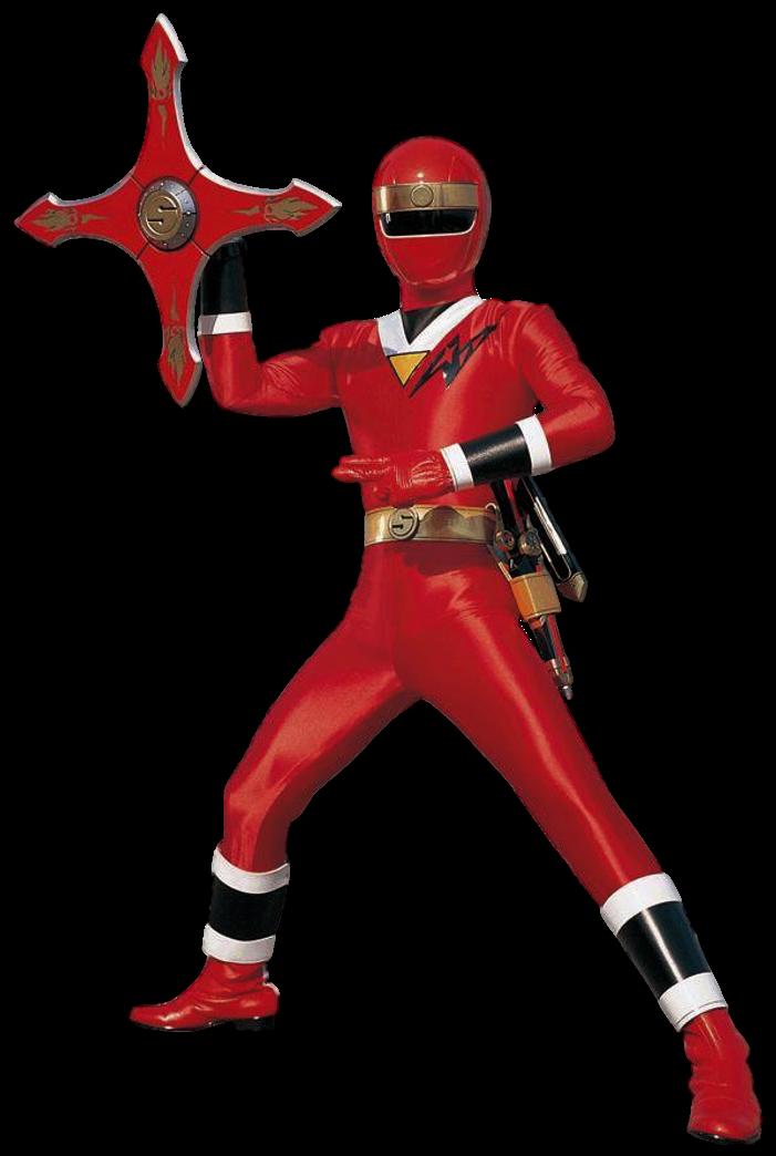 Aquitar Red Ranger Transparent! by CamoFlauge