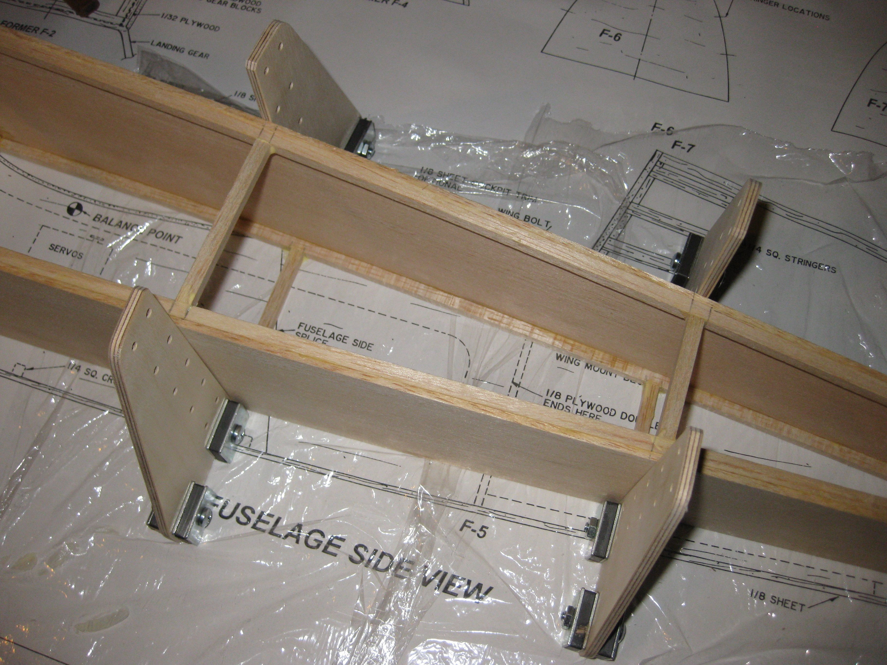 Balsa Usa Stingray 120 Kit Build Page 11 Building Stingray Rc Model