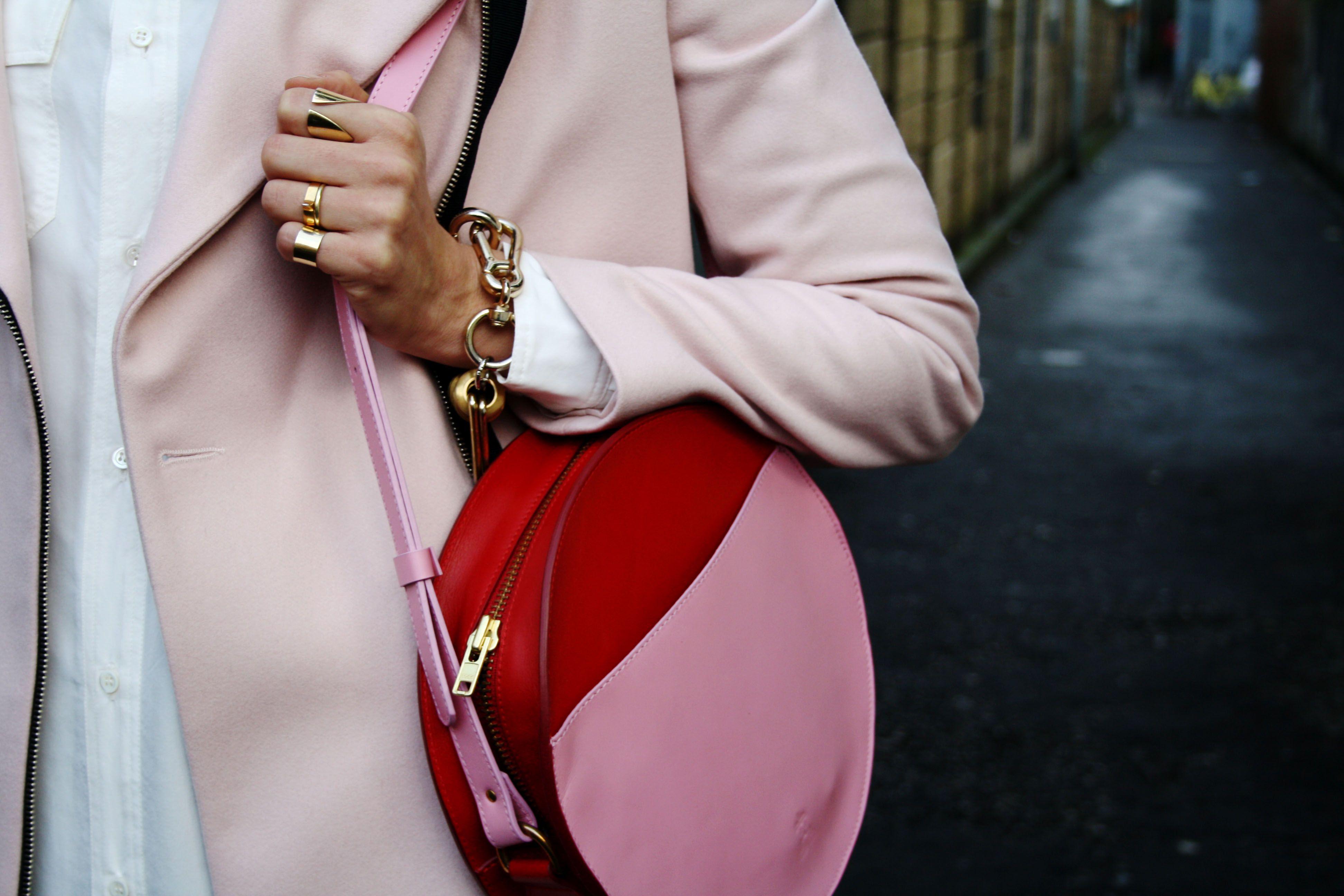pink/red bag