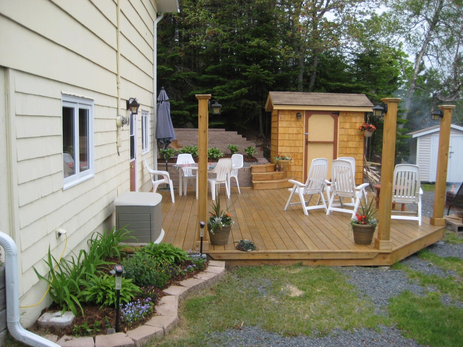 garden shed on deck pictures - Google Search   deck   Pinterest ...