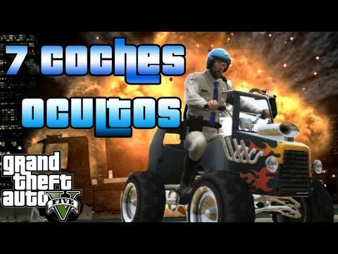 Gta V Localizacion 7 Vehículos Secretos De Gta 5 Coches Ocultos Gta V Youtube Gta 5 Gta Monster Trucks
