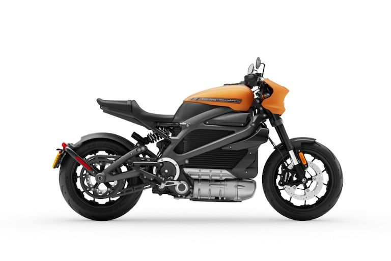 Live Wire Electric >> Orange Harley Davidson Livewire Electric Motorcycle
