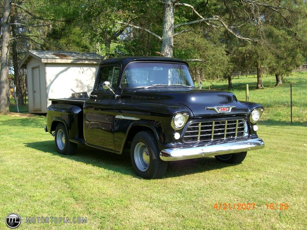1955 chevy truck photo of a 1955 chevrolet 3100 2nd series pick up no