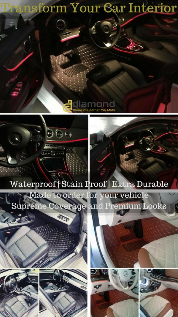 Pin By Diamond Car Mats On Luxury Diamond Car Mats Car Mats Car Floor Mats Luxury