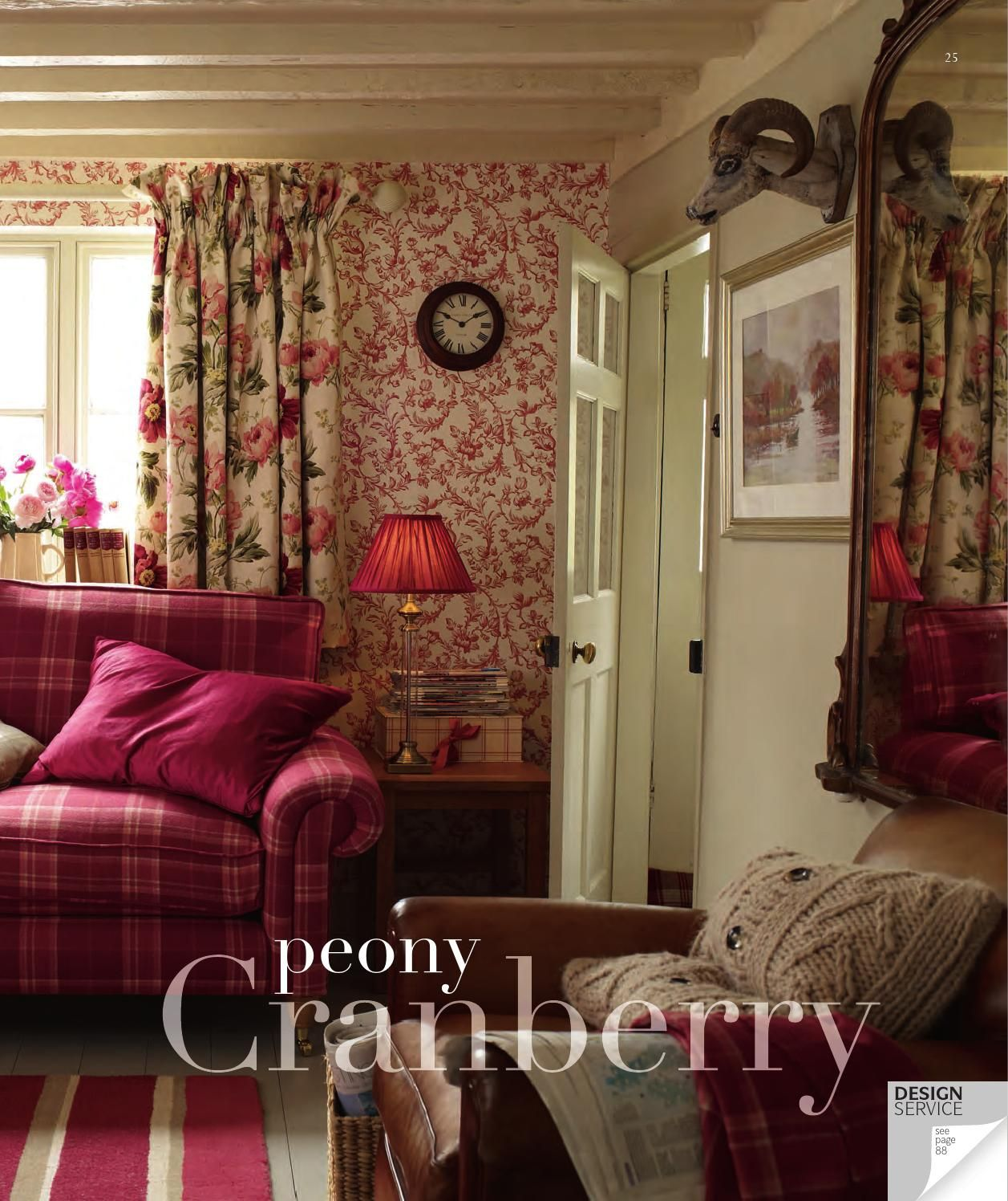 This Country Chic Living Room Is Everything Rachel: Laura Ashley Home Autumn Winter 2013