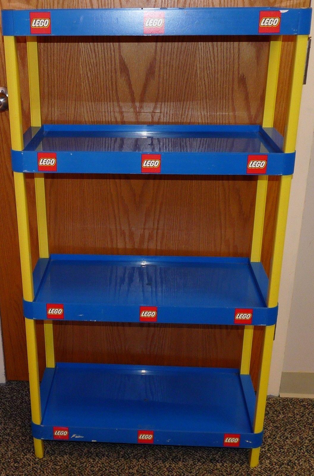 Lego Toy Store Advertising Display Shelf Ebay Displays