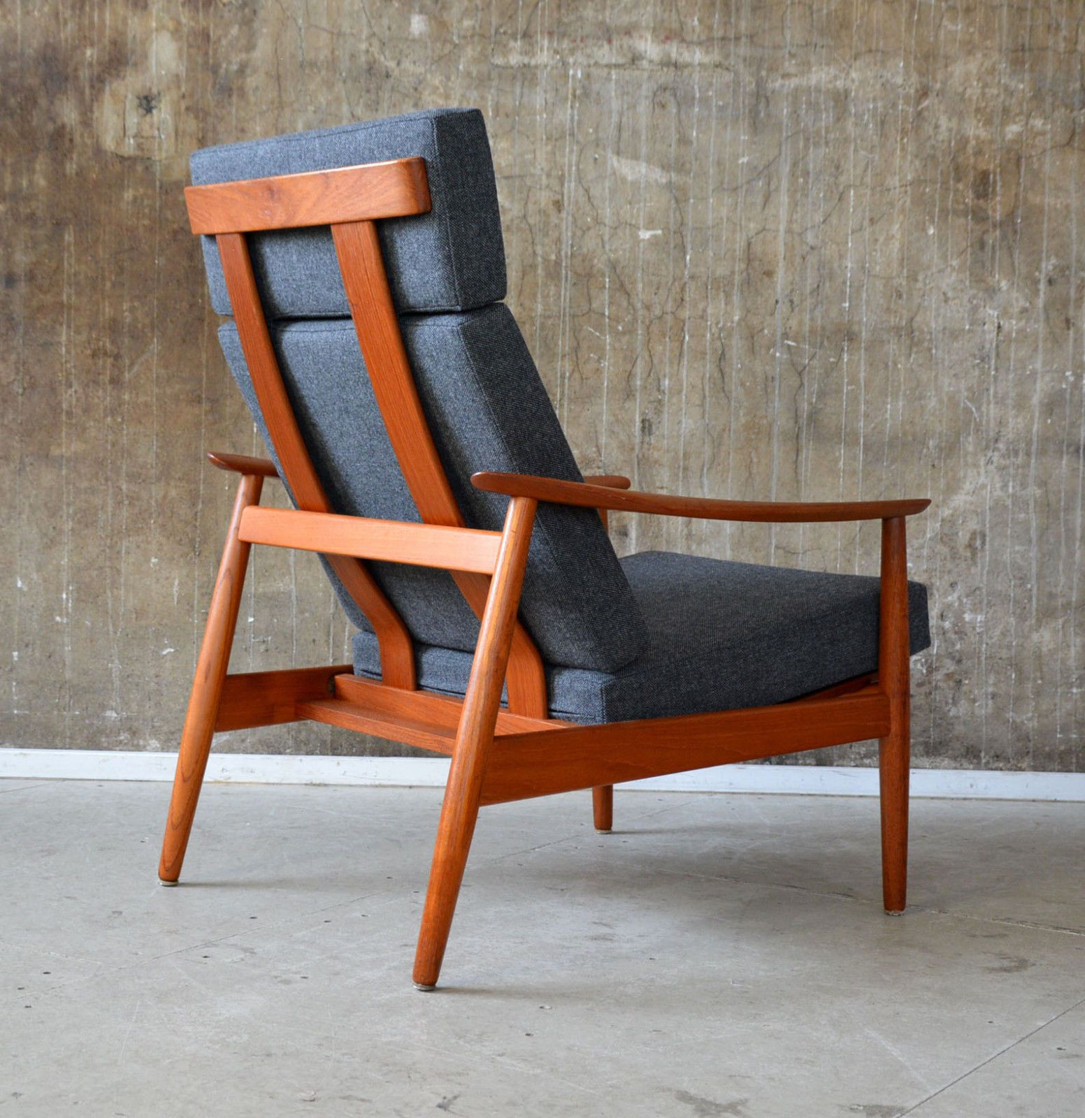 Arne Vodder Sessel 60er Arne Vodder Teak Sessel France Son 60s Easy Chair Danish