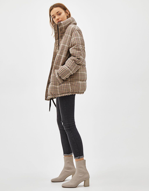 6c32c12f0621 Coats - CLOTHING - WOMEN - Bershka United States