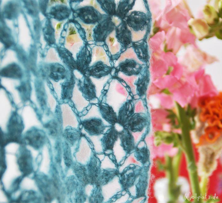 Sommerliche Blumenmuster   Pinterest   Blumenmuster, Häkeln und ...