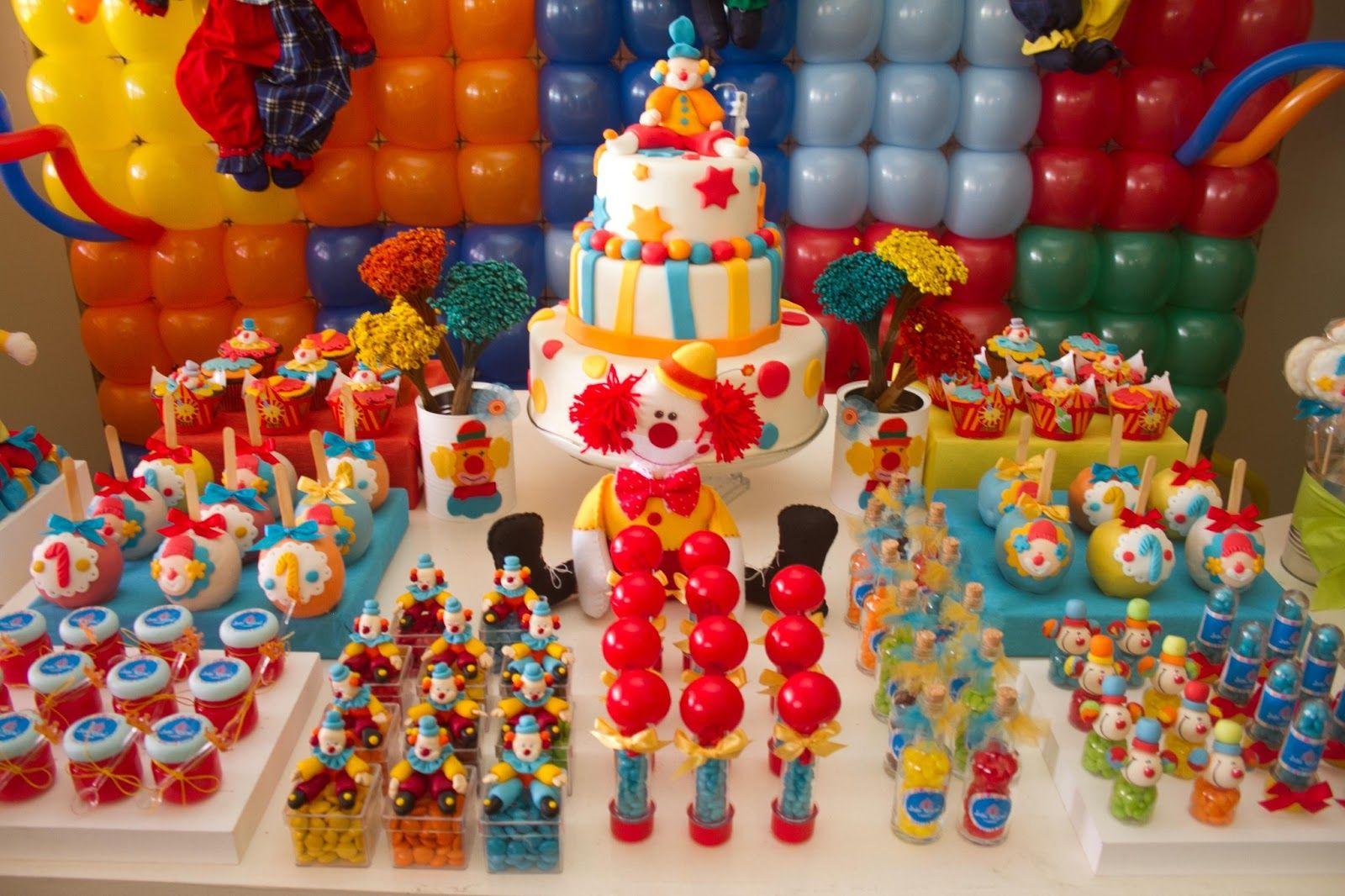 Enfeite De Torta ~ Di Confeti Festa Tema Circo idéias de decoraç u00e3o infantil Pinterest Festa com temática de