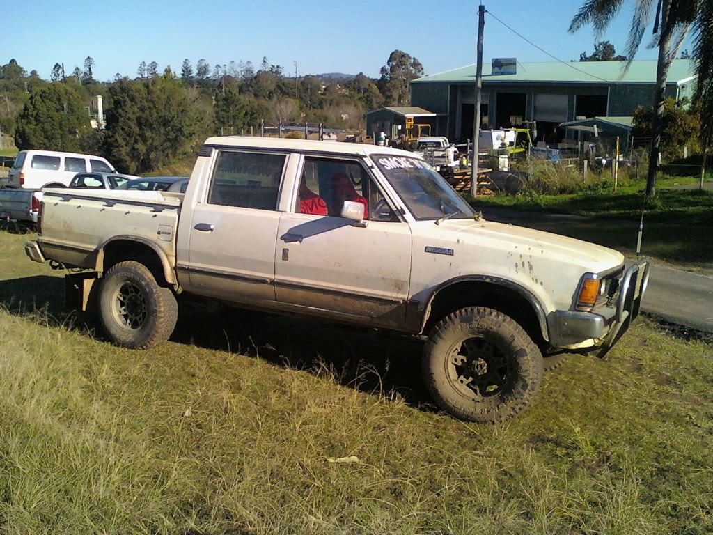 View topic dopey s nissan 720 build nissan 4x4truck