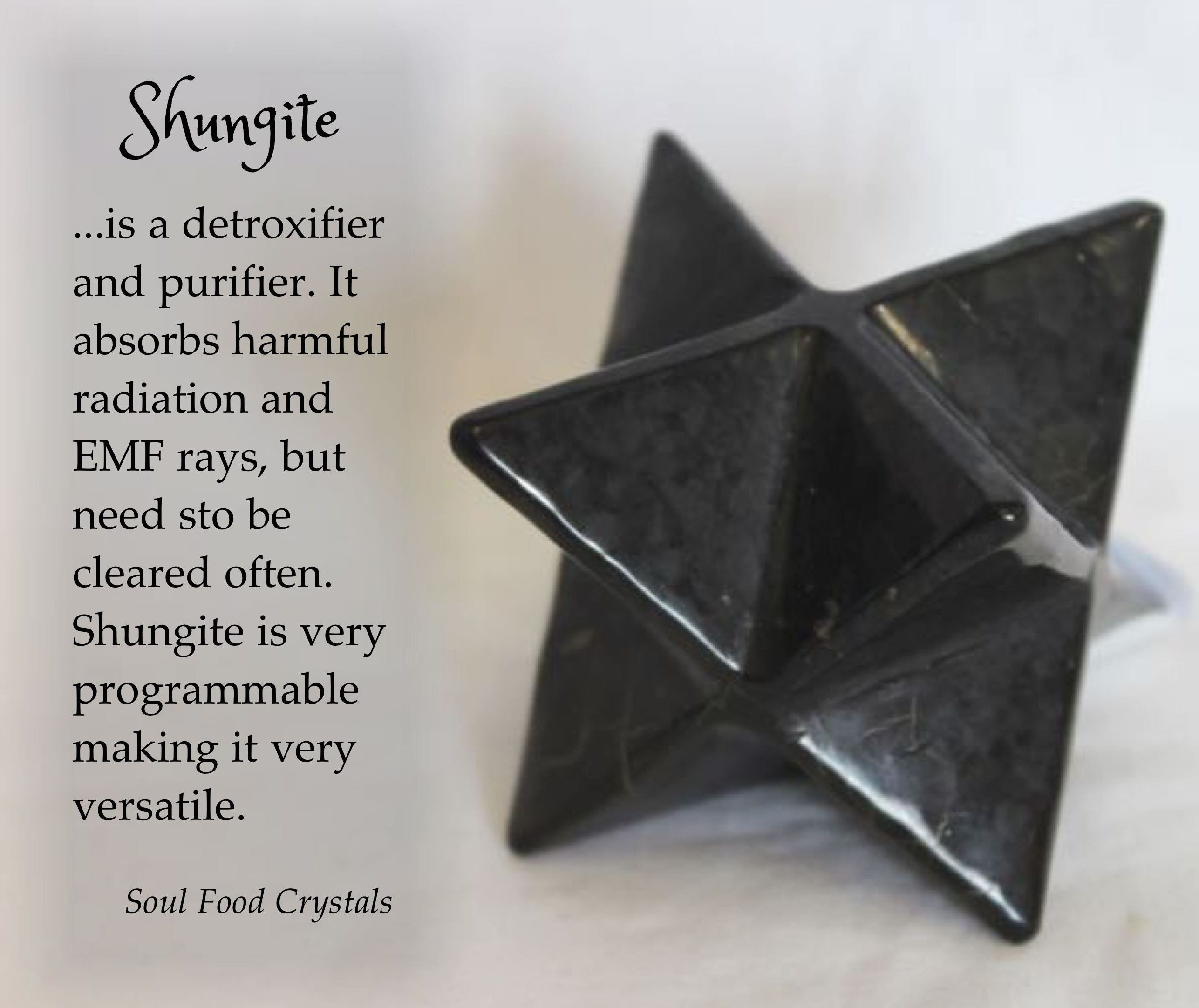 Shungite shields and absorbs EMF | Gempath | Crystals