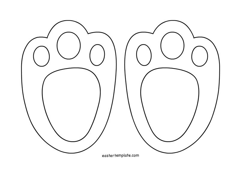 Images of Easter Bunny Cutouts Printable - Wedding Goods Easter in