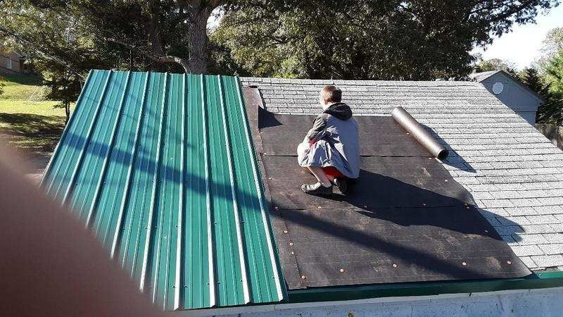 Metal Roof Over Shingles Without Furring Strips In 2020 Metal Roof Over Shingles Metal Roof Shingling