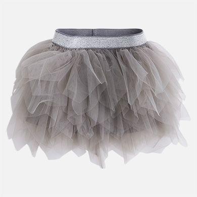 18fda0c21 Falda corta de niña en tul   PEQUES   Vestidos para niñas, Faldas en ...