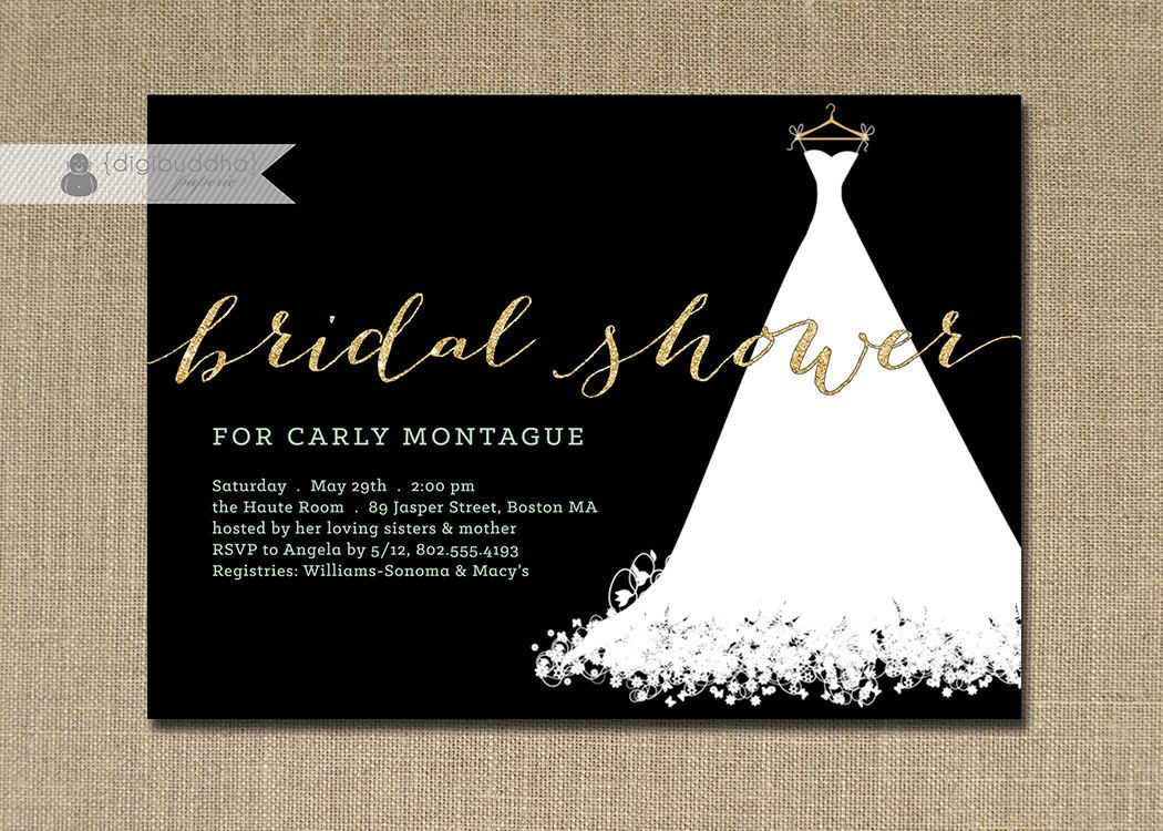 White gown wedding invitations