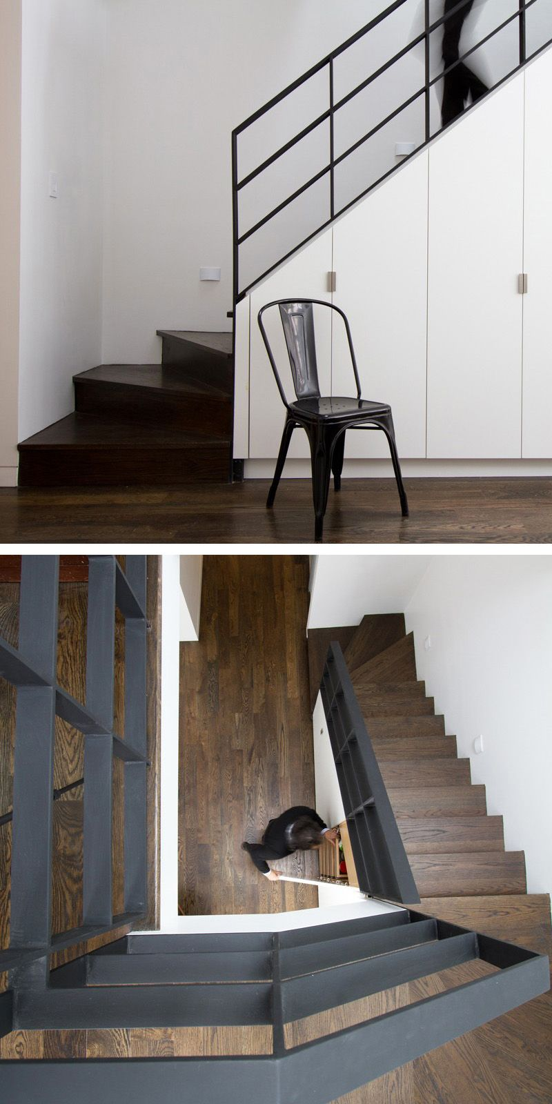 Stairs Inside A Brooklyn Row House House Row House Staircase