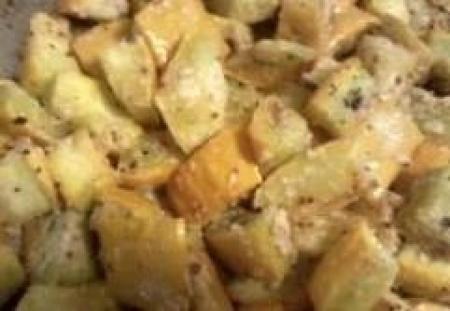 Roasted Garlic~Parmesan Summer Squash Recipe on Yummly
