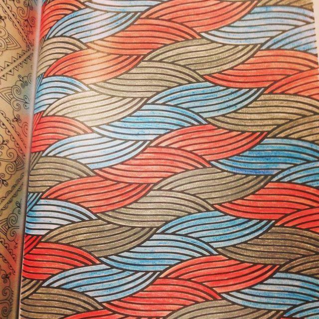 4/100 #creativecolouringforgrownups #arttherapy #arteantiestresse #arteantiestres #100laminasvintageparacolorear
