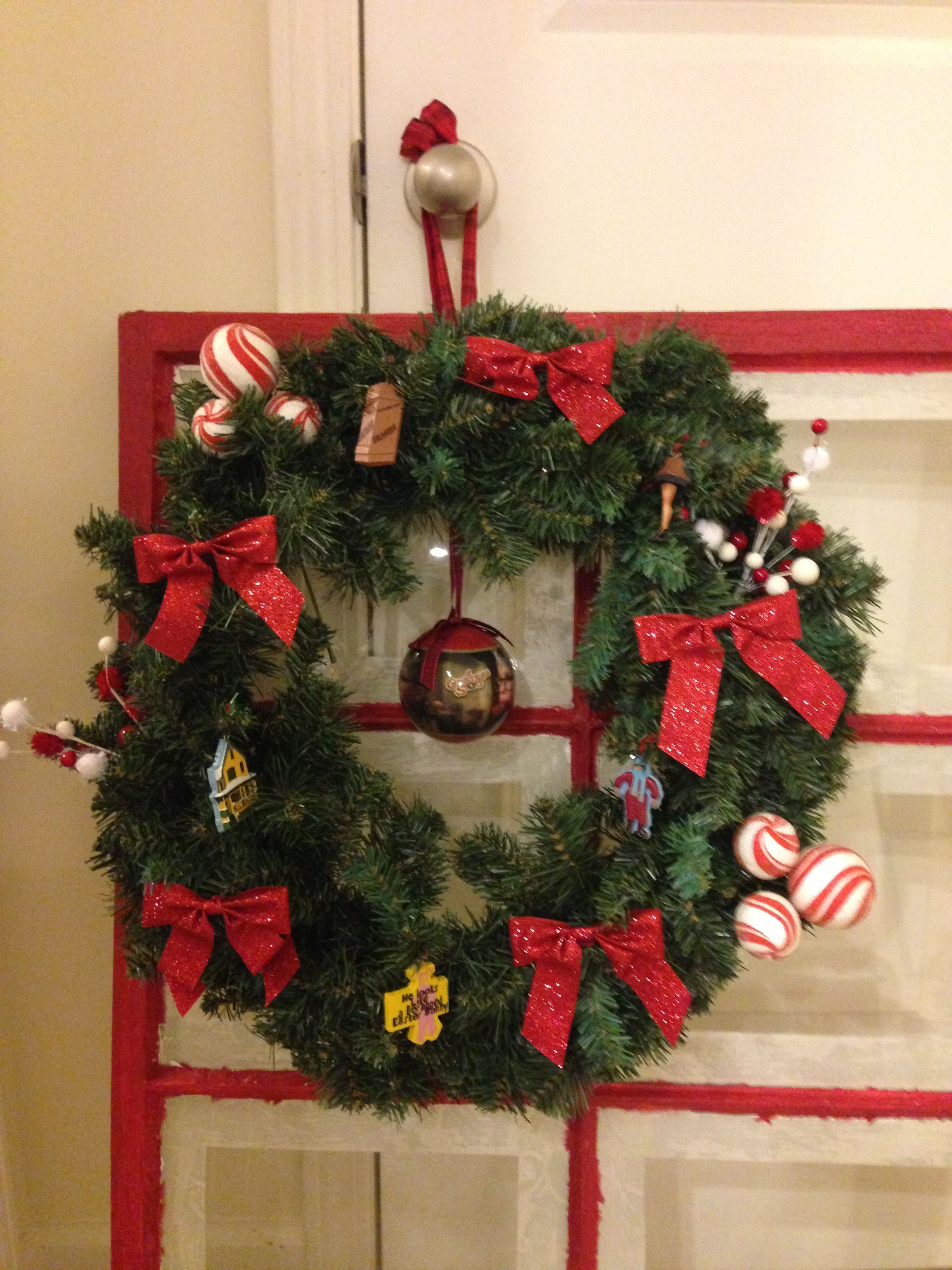 another one of my christmas story wreaths i made - When Was Christmas Story Made