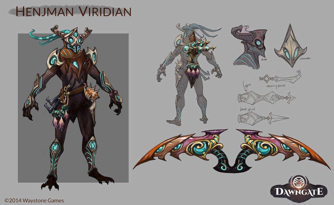Dawngate - Henjman Viridian by tiffanyturrill on DeviantArt