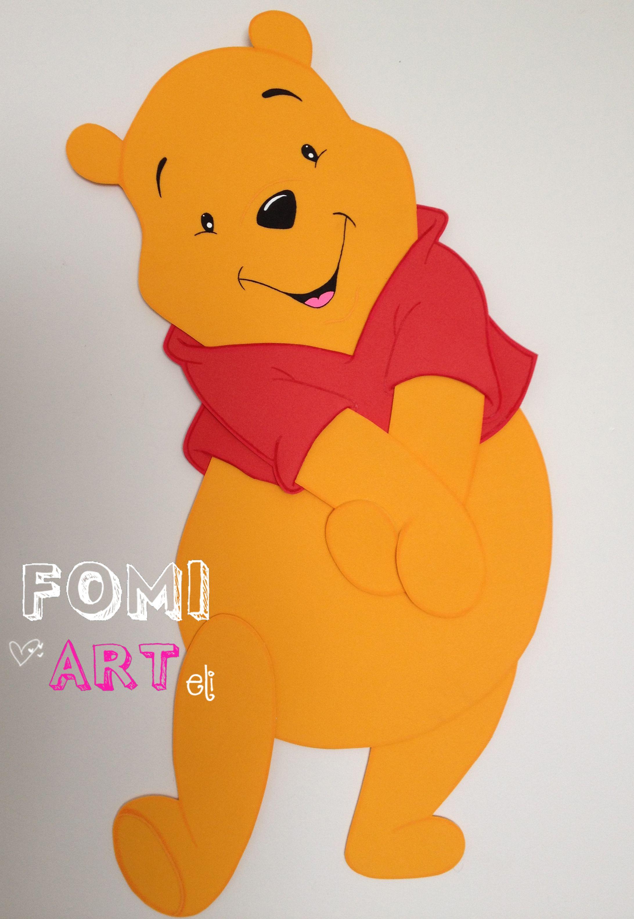 Winnie Pooh en Fomi | Foami.. ideas | Pinterest | Craft