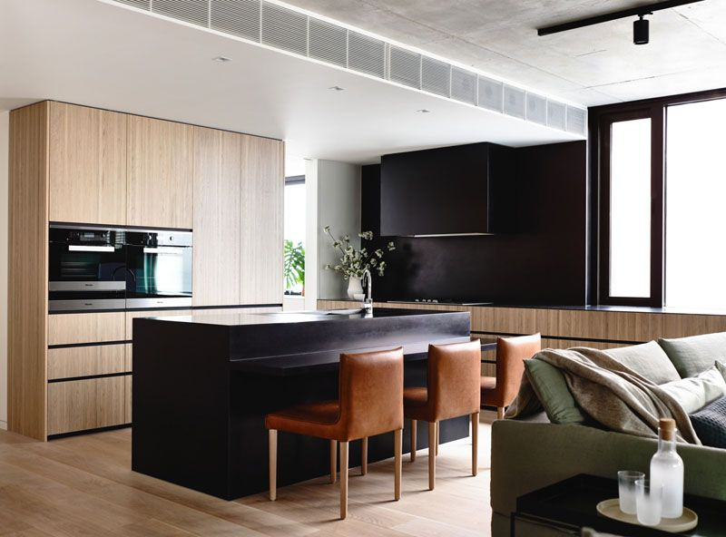 Kitchen Design Idea U2013 10 Inspirational Examples Of Kitchens With Integrated  Fridges | The Absence Of