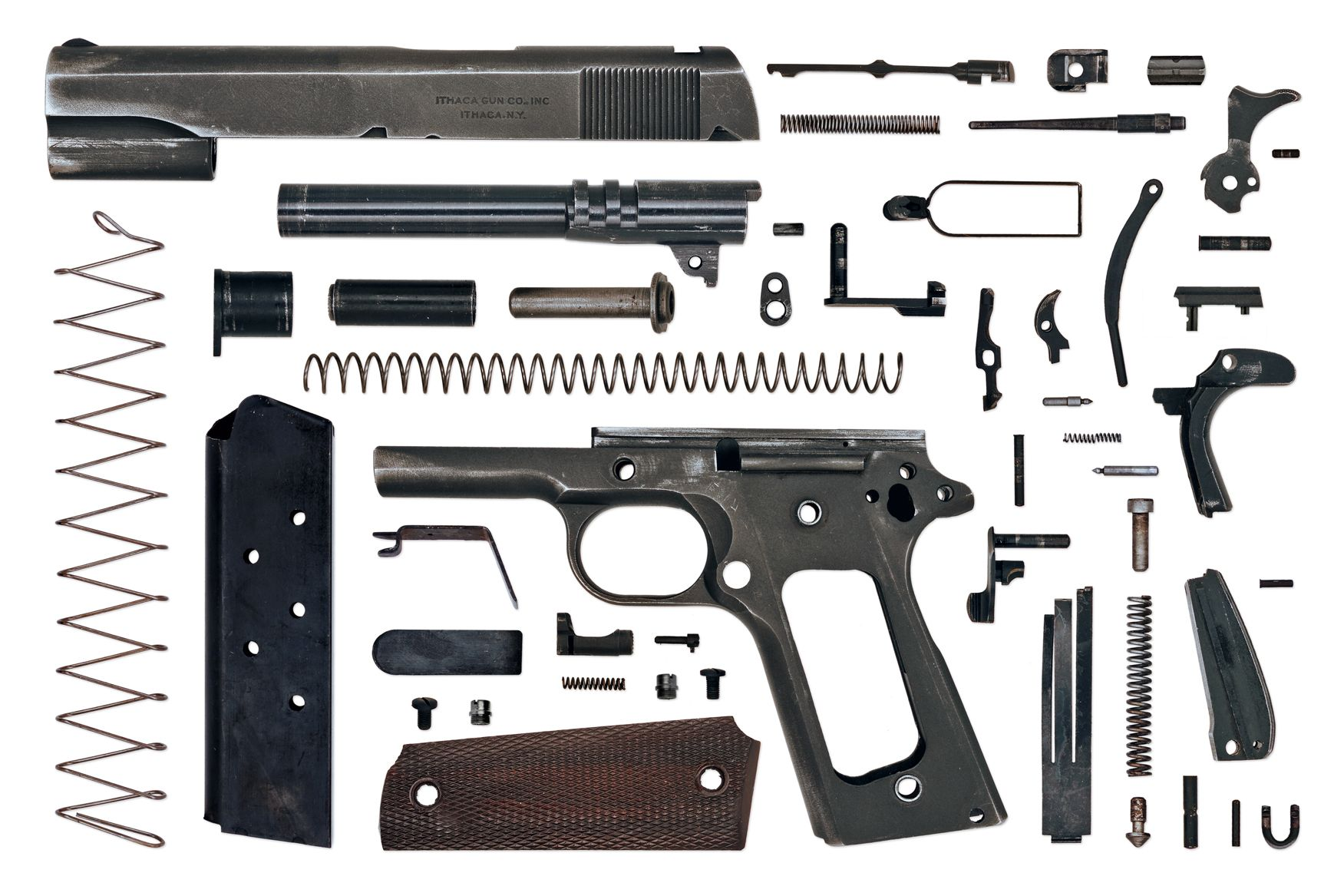 Photo of the day: \'Anatomy of a 1911′ | Firearms related | Pinterest ...