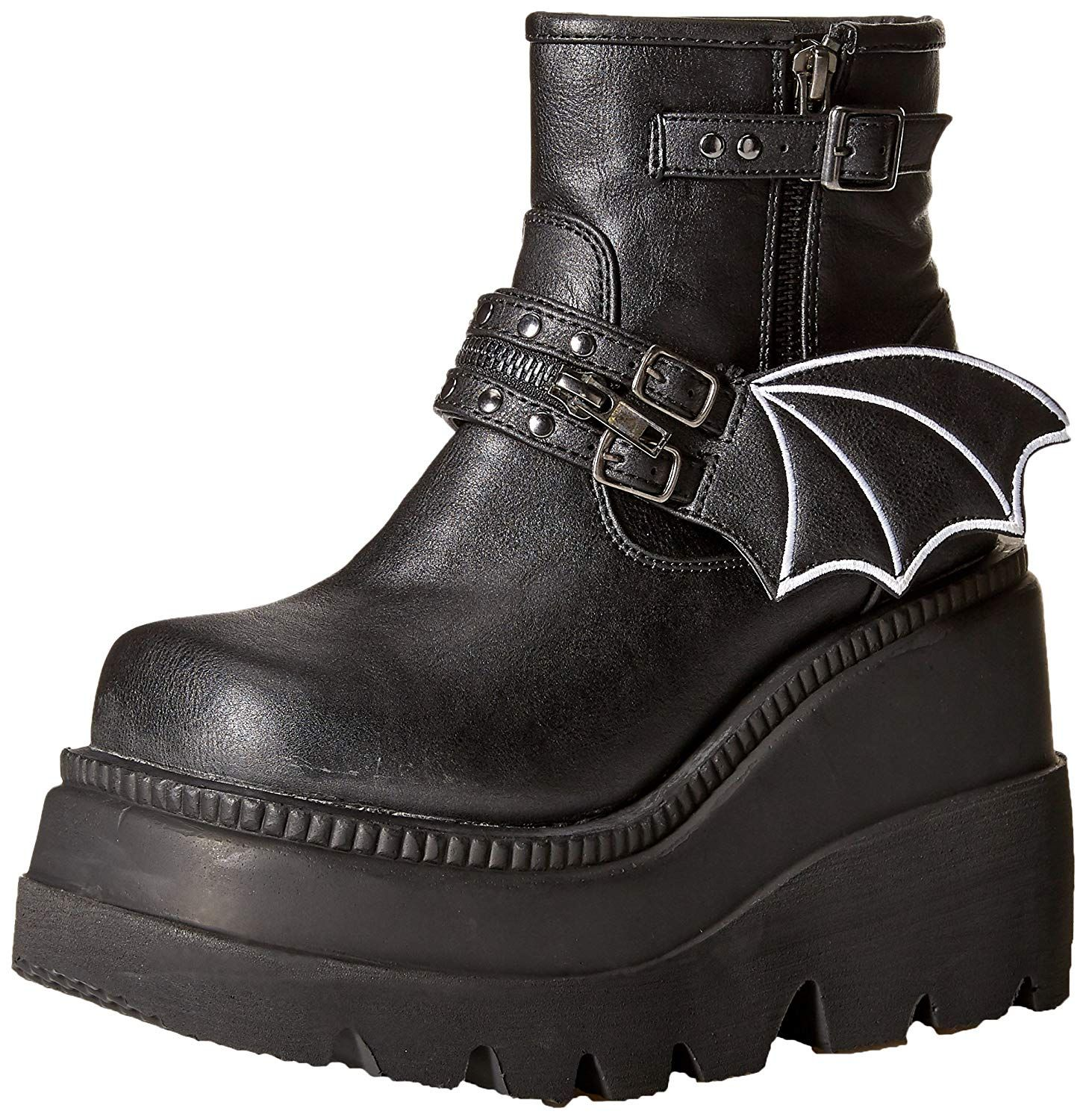 2257a6ce807 Demonia Women's SHAKER-55 Ankle Boot, >>> We appreciate you for ...