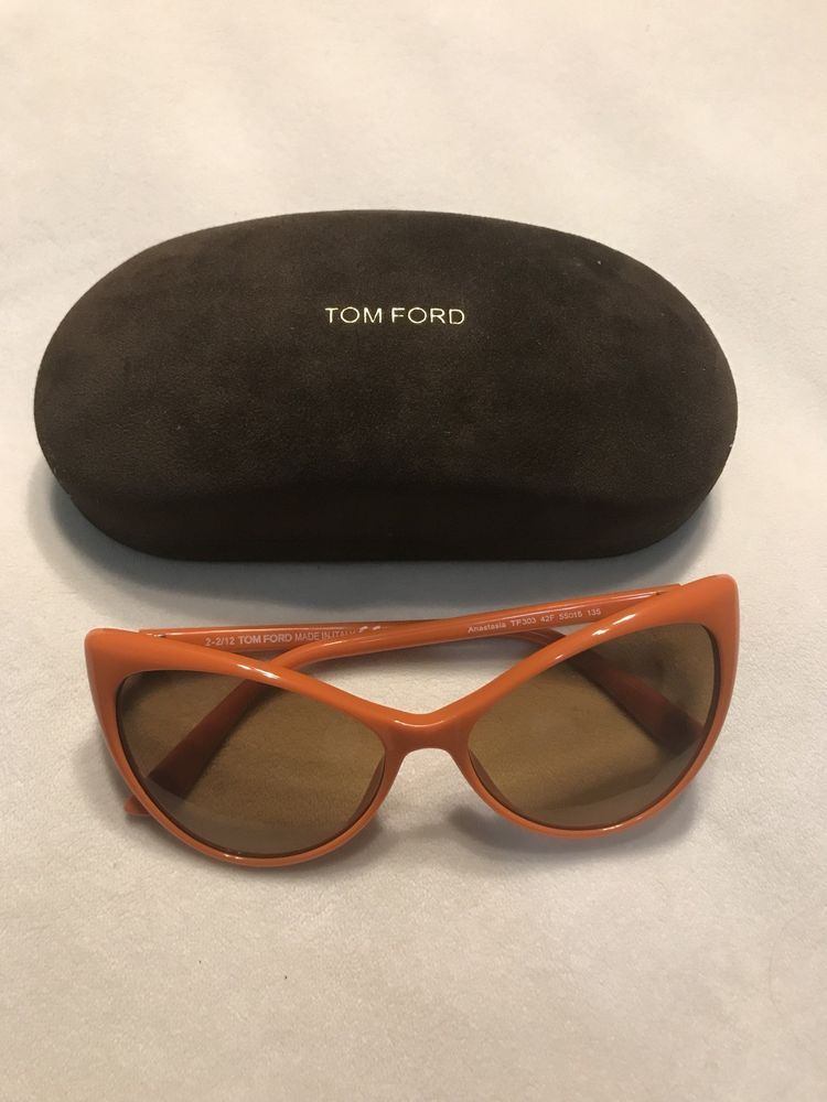 757d6f2bf6a5c Tom Ford Women s Original Style TF303 42F Anastasia Orange CatEye Sunglasses  55M  fashion  clothing  shoes  accessories  womensaccessories ...