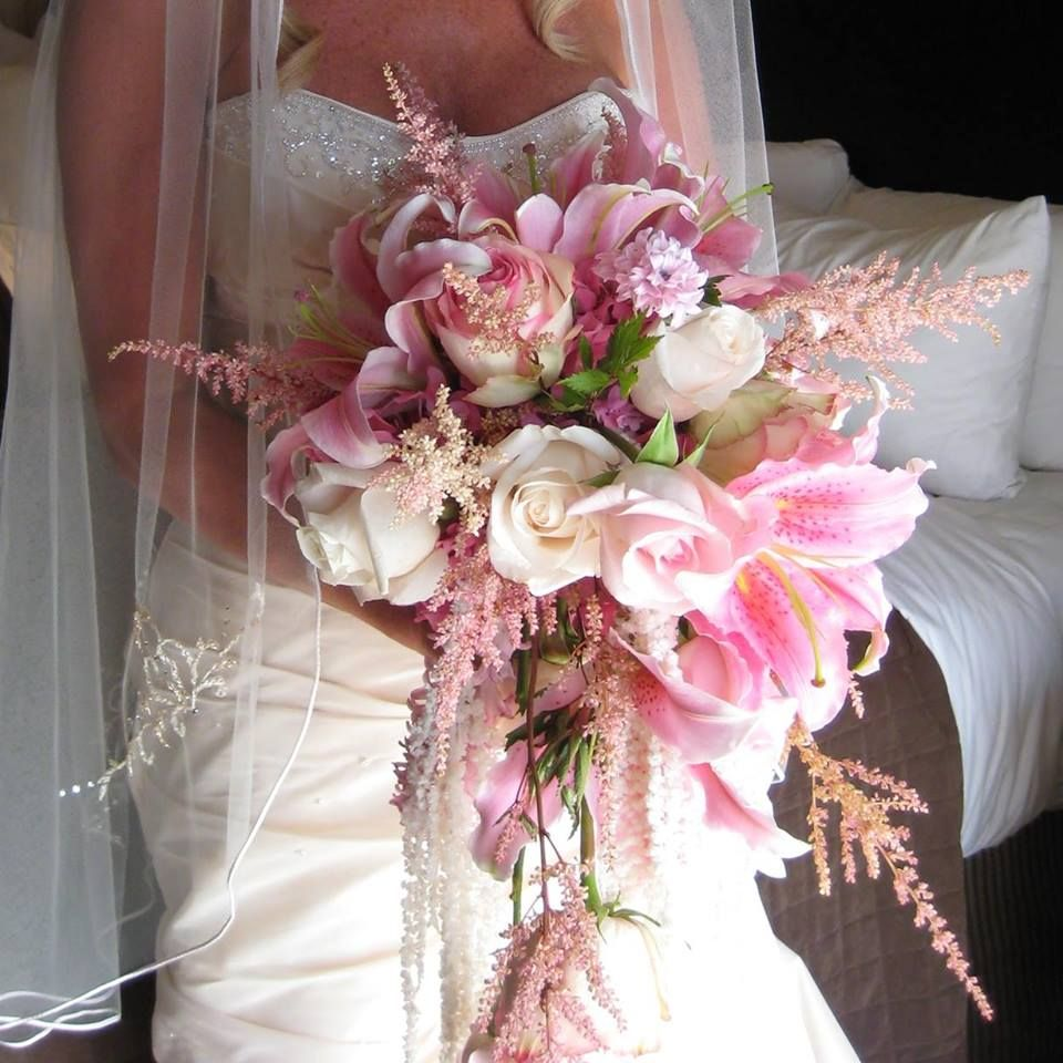 For The Love Of Flowers created this gorgeous whimsical bridal ...