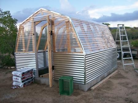 Greenhouse barn do it yourself home projects from ana white greenhouse barn do it yourself home projects from ana white solutioingenieria Images