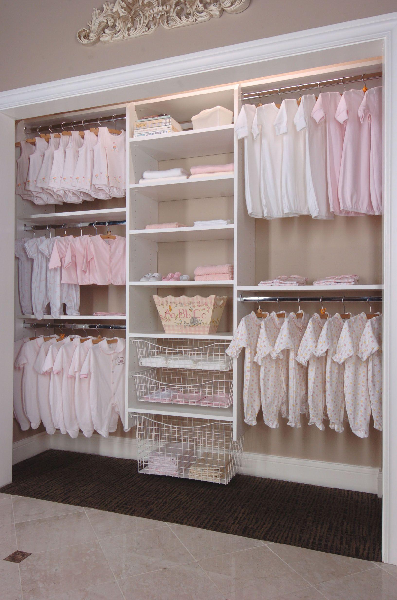Nursery Closet Systems ideas para casita