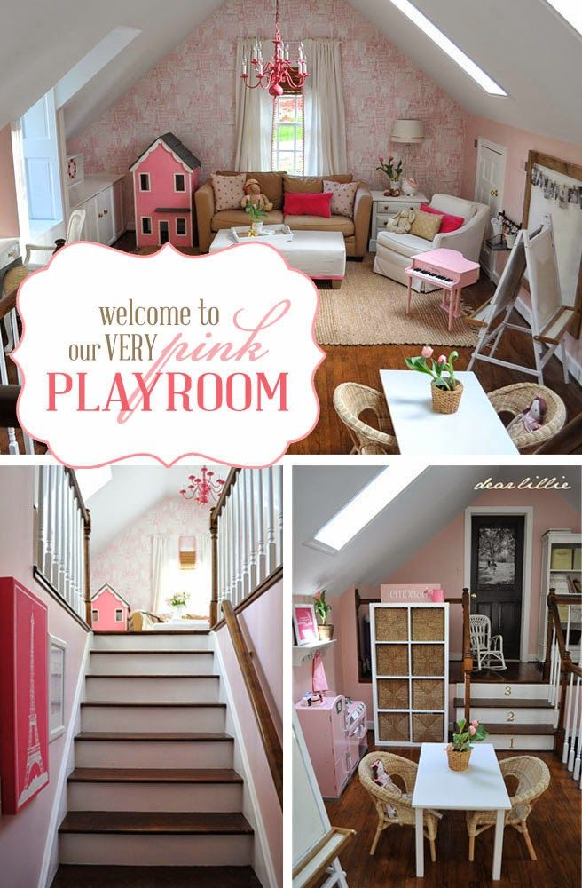 Happy By Design Our Very Pink Playroom Pink Playroom Girly Playroom Playroom A very pink christmas playroom