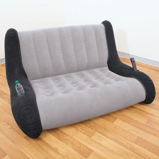 Inflatable Sofa! #gameroom