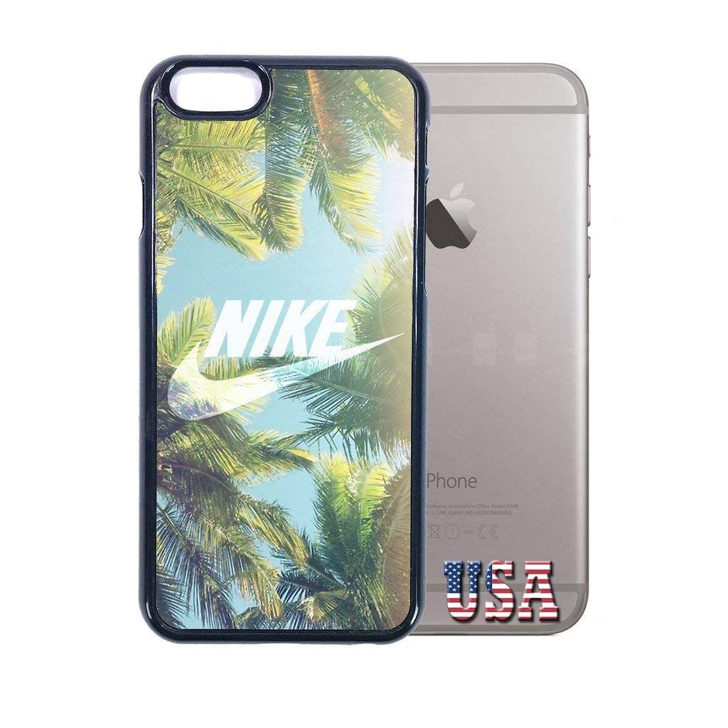 factory price 4f307 ea0cb Amazon.com: nike iphone 6 case Customized soft rubber white phone ...