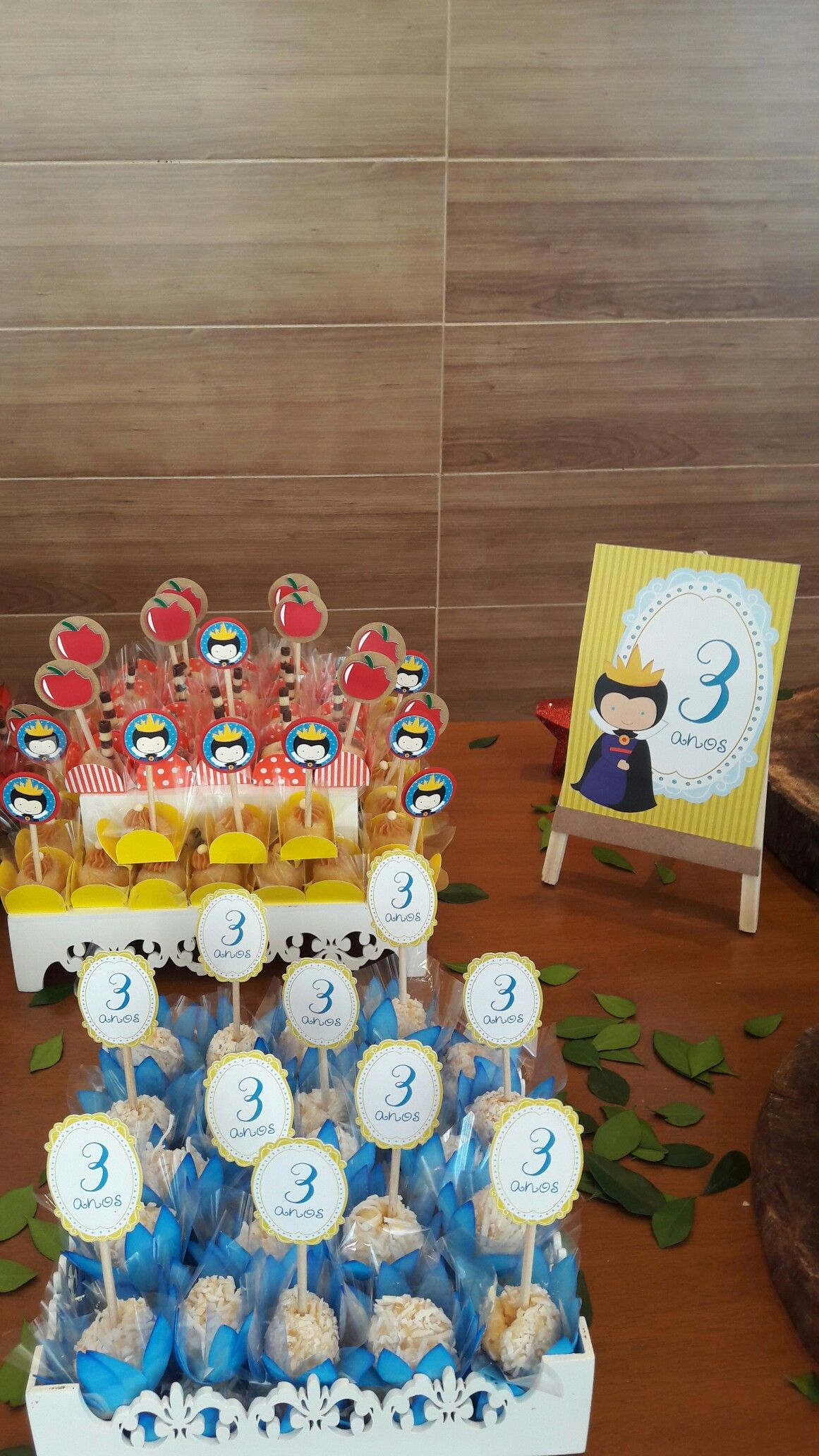 Docinhos Festa Branca De Neve Brancadeneve Snowwhite Infantil