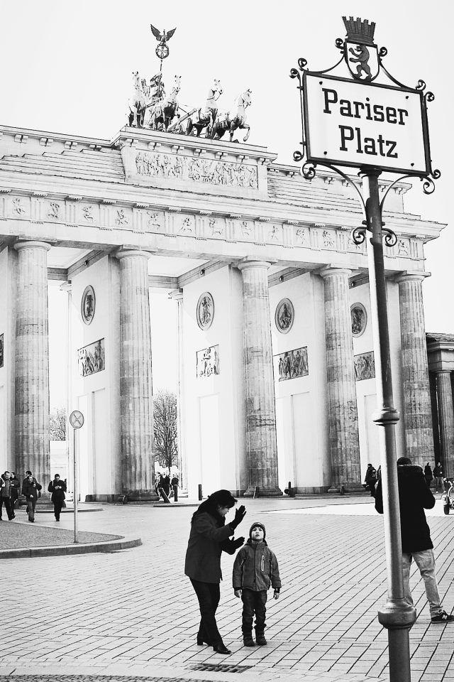 Pariser Platz Brandenburger Tor Brandenburger Tor Pariser Berlin
