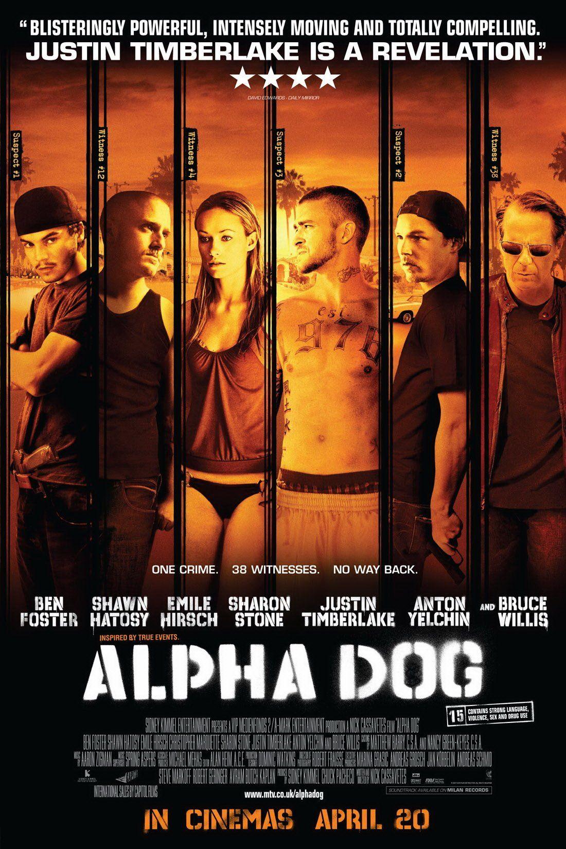 Alpha Dog 2006 Alpha Dog Dog Movies Dog Films