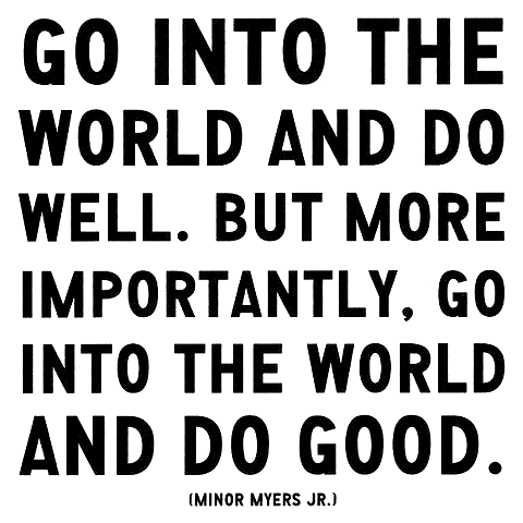 do good.