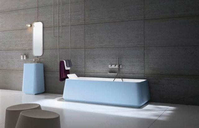 Modèle de salle de bain - 30 designs luxueux et élégants - Salle De Bain Moderne Grise